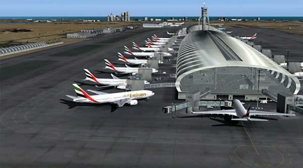 dubai airport fsx