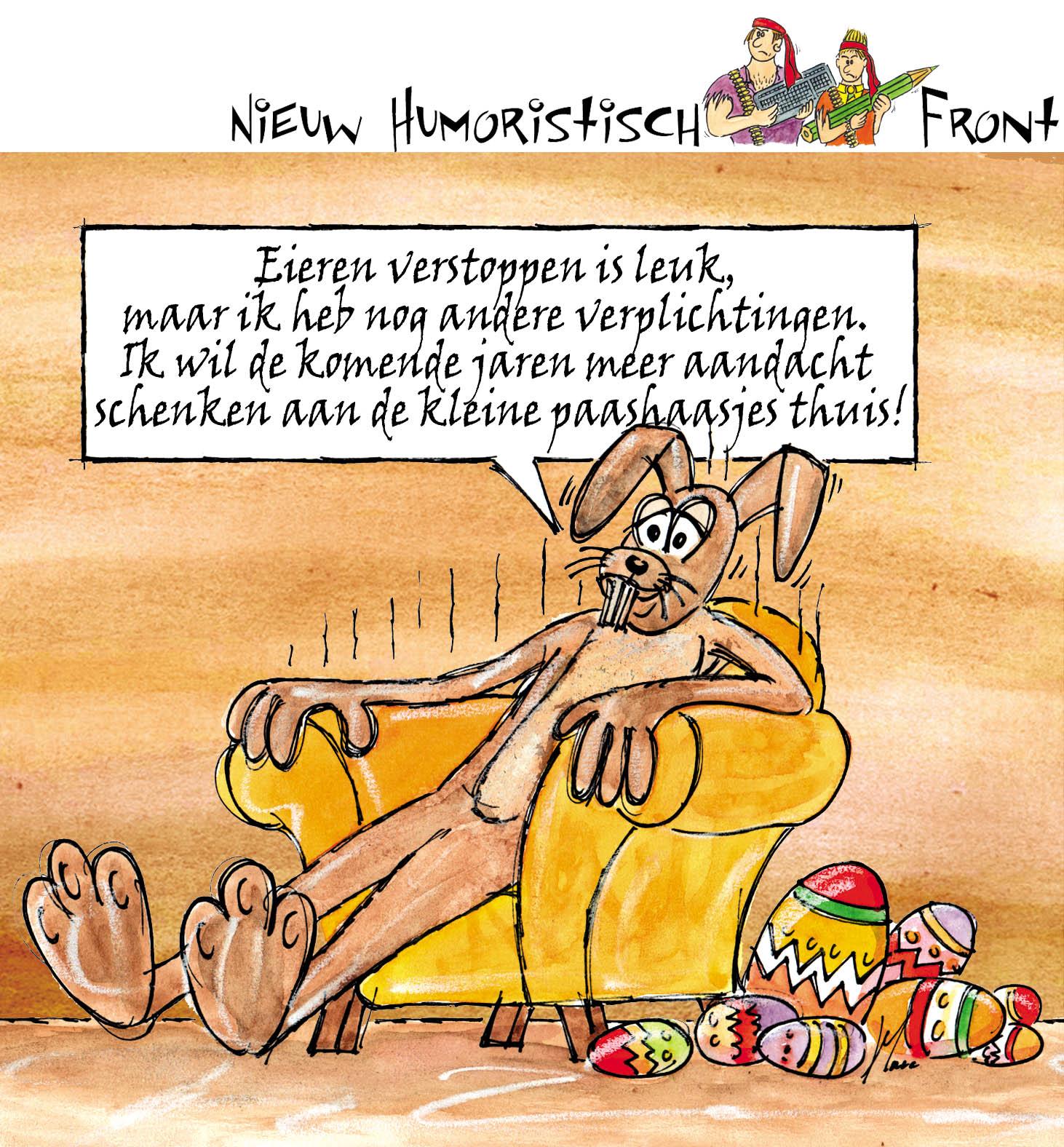 Het Nieuw Humoristisch Front April 2010