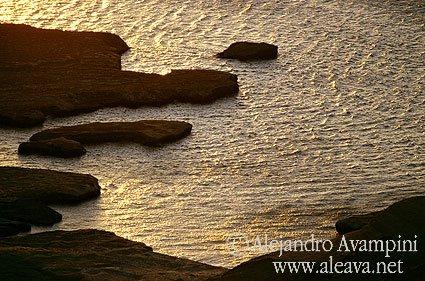 Mareas en Península Valdés Patagonia Argentina