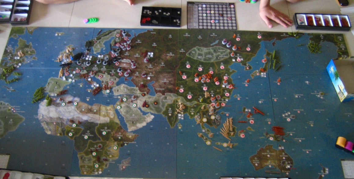 Axis and allies board game versions