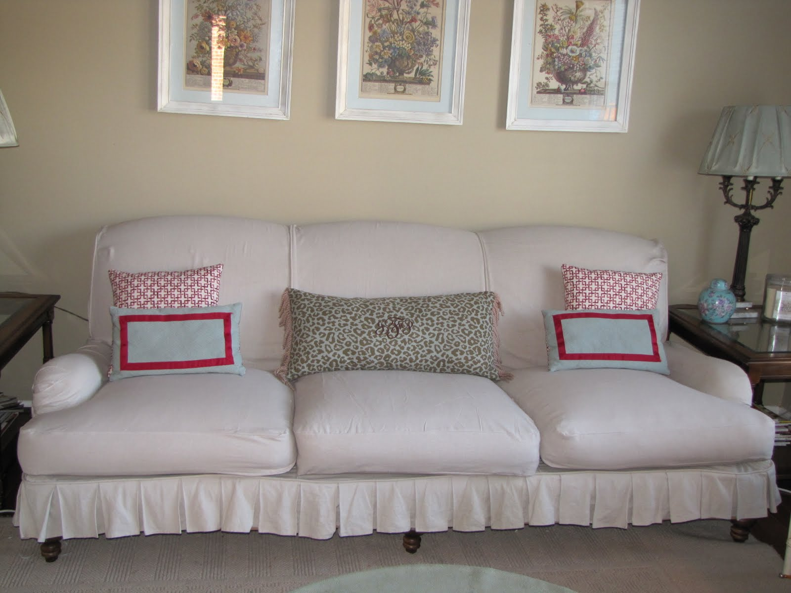 Bibbidi Bobbidi Beautiful How to Slipcover Sofas and Chairs