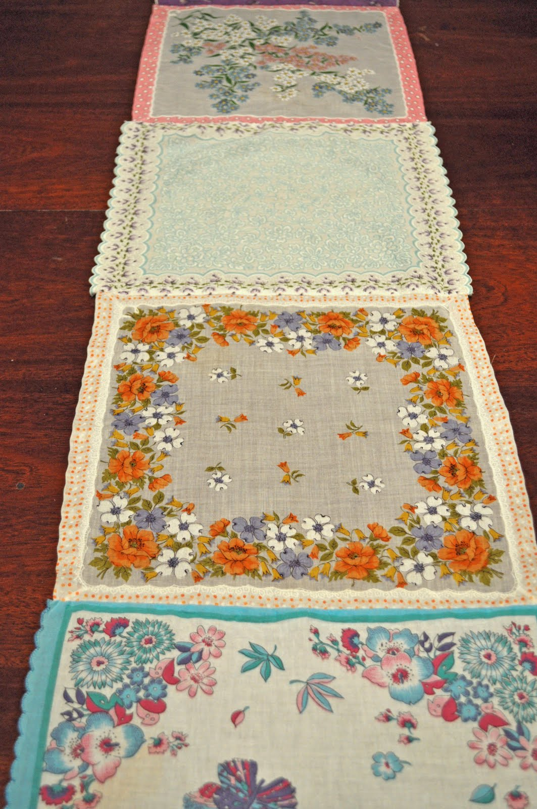 a new look at vintage hankies and doilies | Little Birdie ...