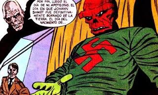 Cráneo Rojo, archi enemigo del Capitán América