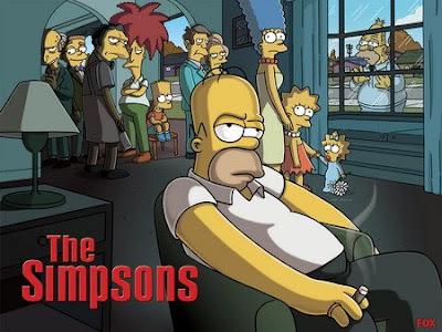 Los Simpson, en Los Soprano