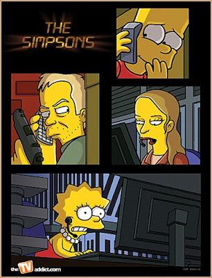 La serie 24 en Los Simpson