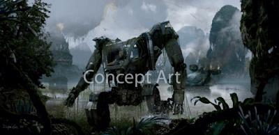 Concept art Avatar de James Cameron