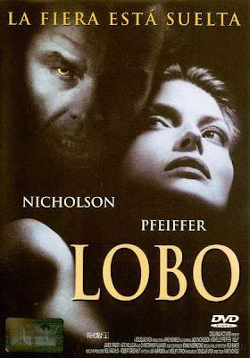 Póster de 'Lobo' con Jack Nicholson y Michele Pfeiffer