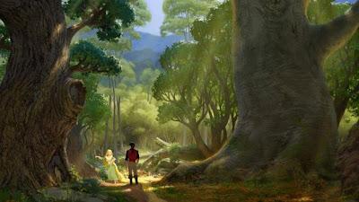 Concept art de Rapunzel 6