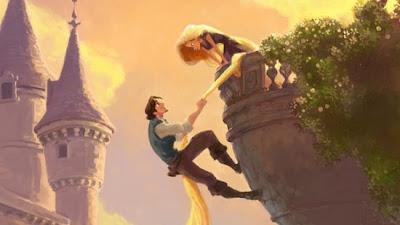 Concept art de Rapunzel 8