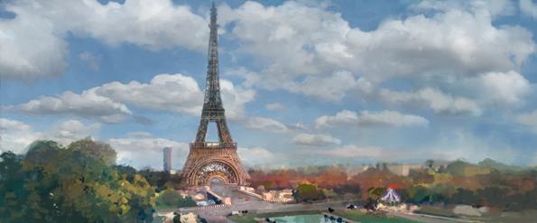 París será uno de los escenarios de Cars 2