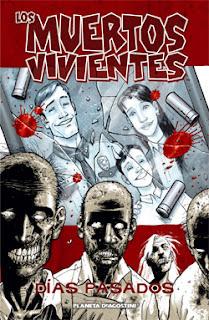 Portada del cómic Los muertos vivientes