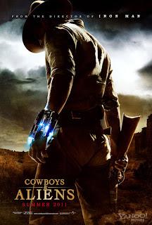 póster de Cowboys and aliens