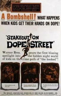 Póster de Stakeout on Dope Street