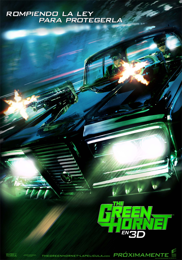 Poster de The Green Hornet