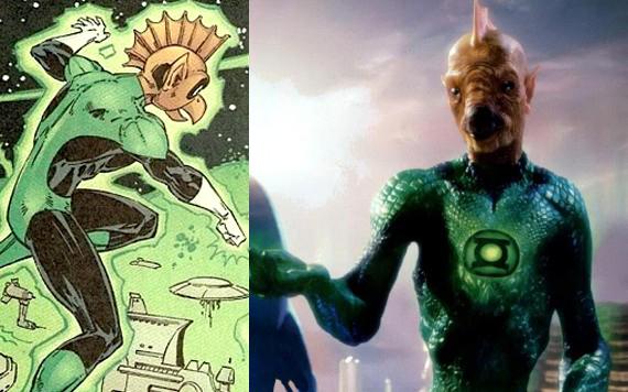 Green Lantern Tomar - Re