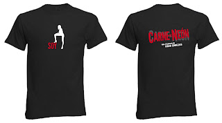 Camisetas Carne de Neón