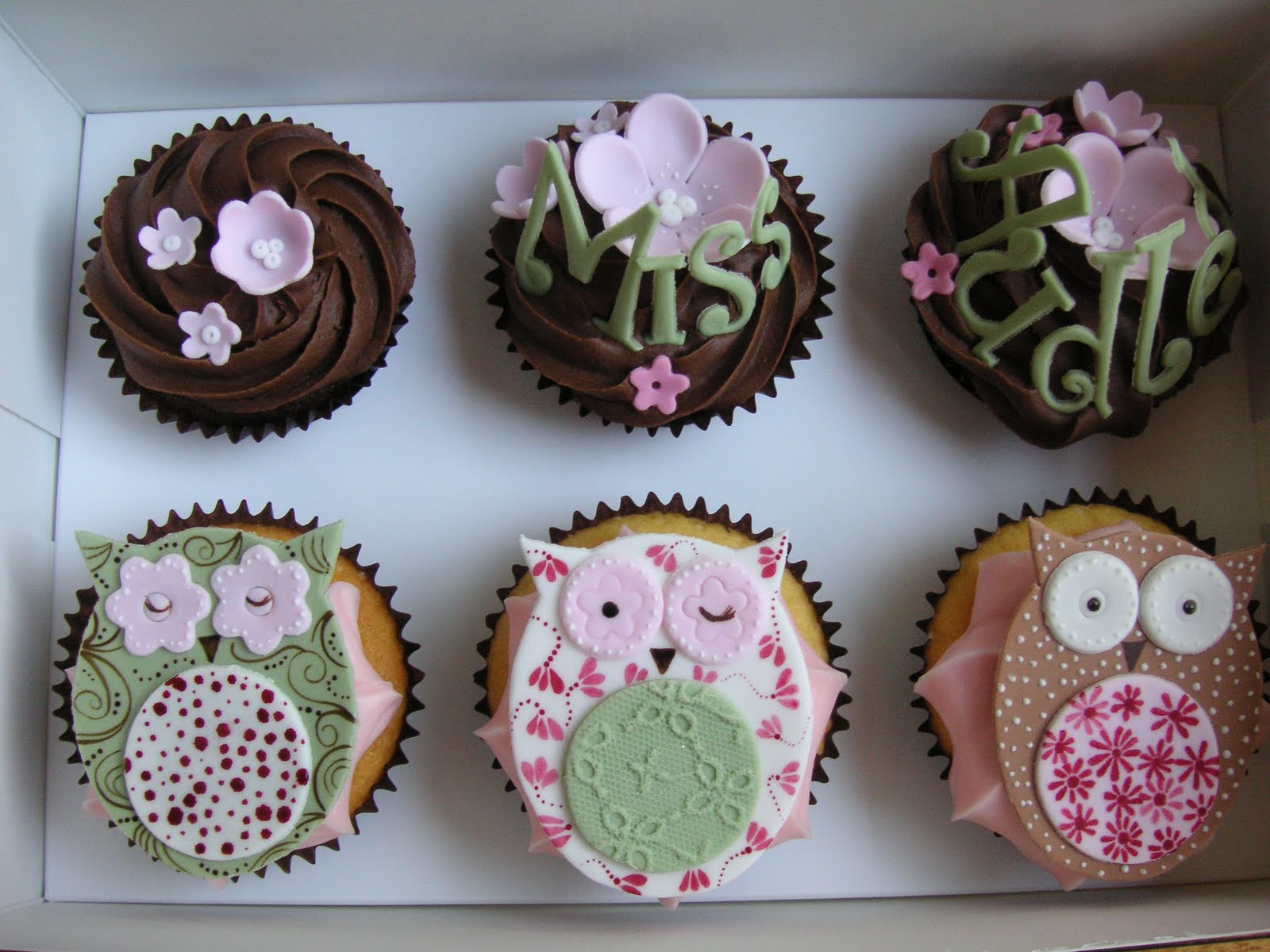 Just Call Me Martha Owl Cupcakes