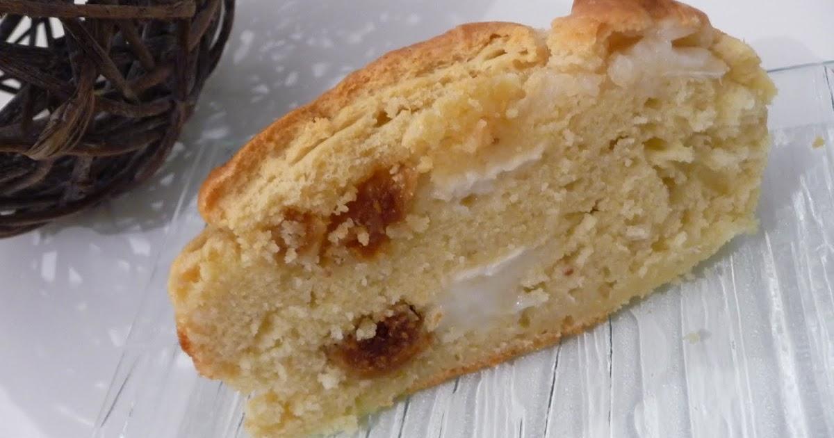 Cake Chevre Olive Sans Lait