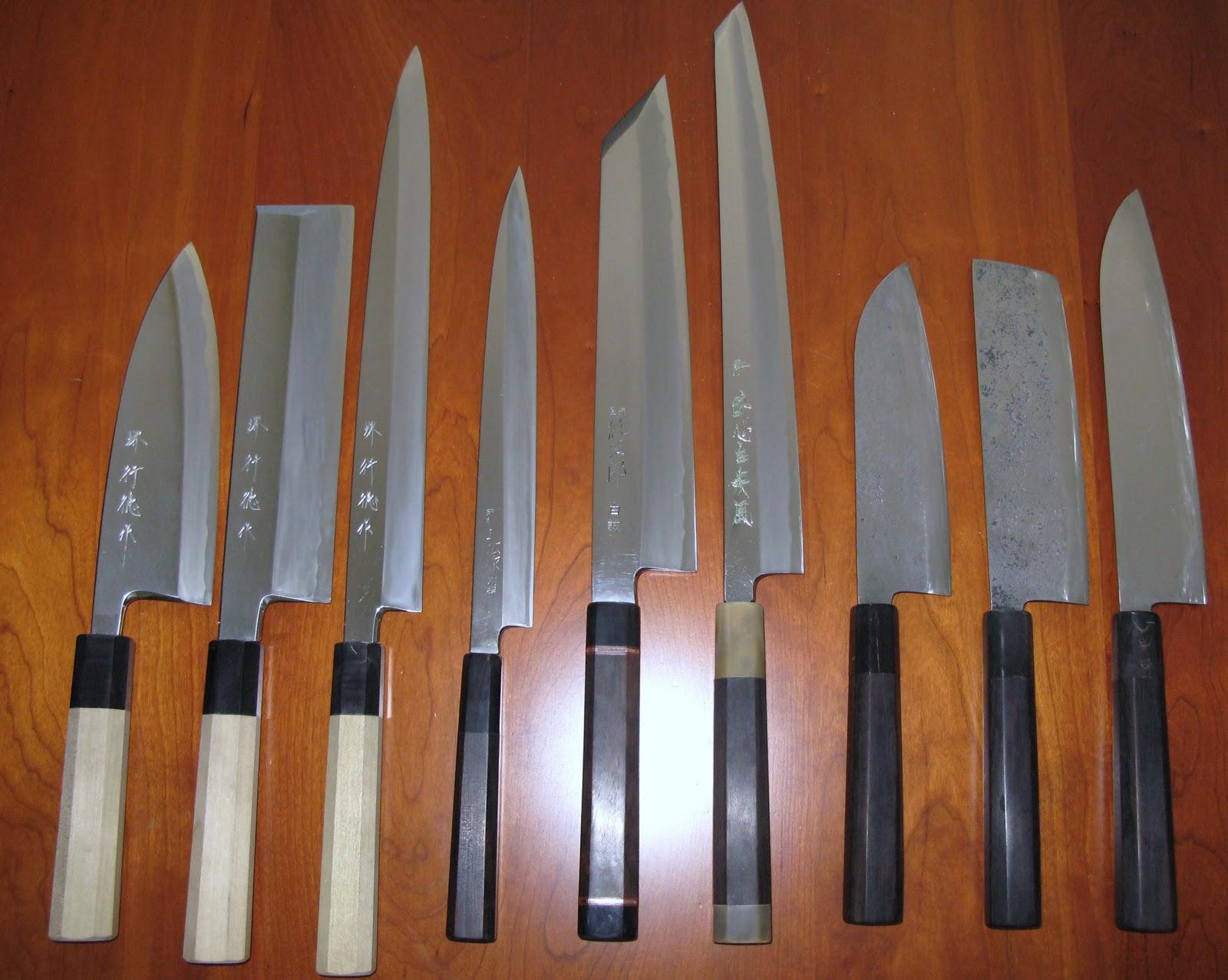 Darkhoeks Creative Culinarium: Knives, Knives, Knives