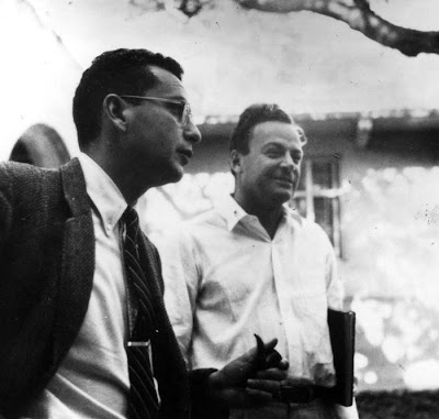 Richard Feynman y Murray Gell-Mann