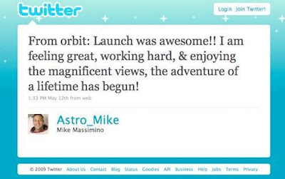 Mike Massimino Tweet