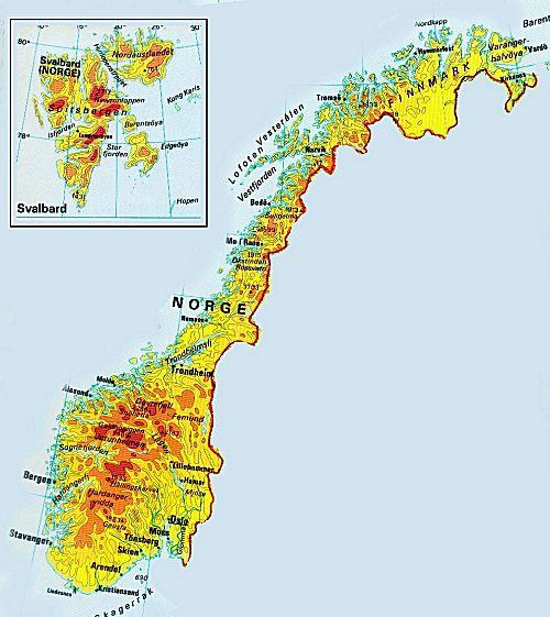 isbreer i norge kart MSN9D isbreer i norge kart