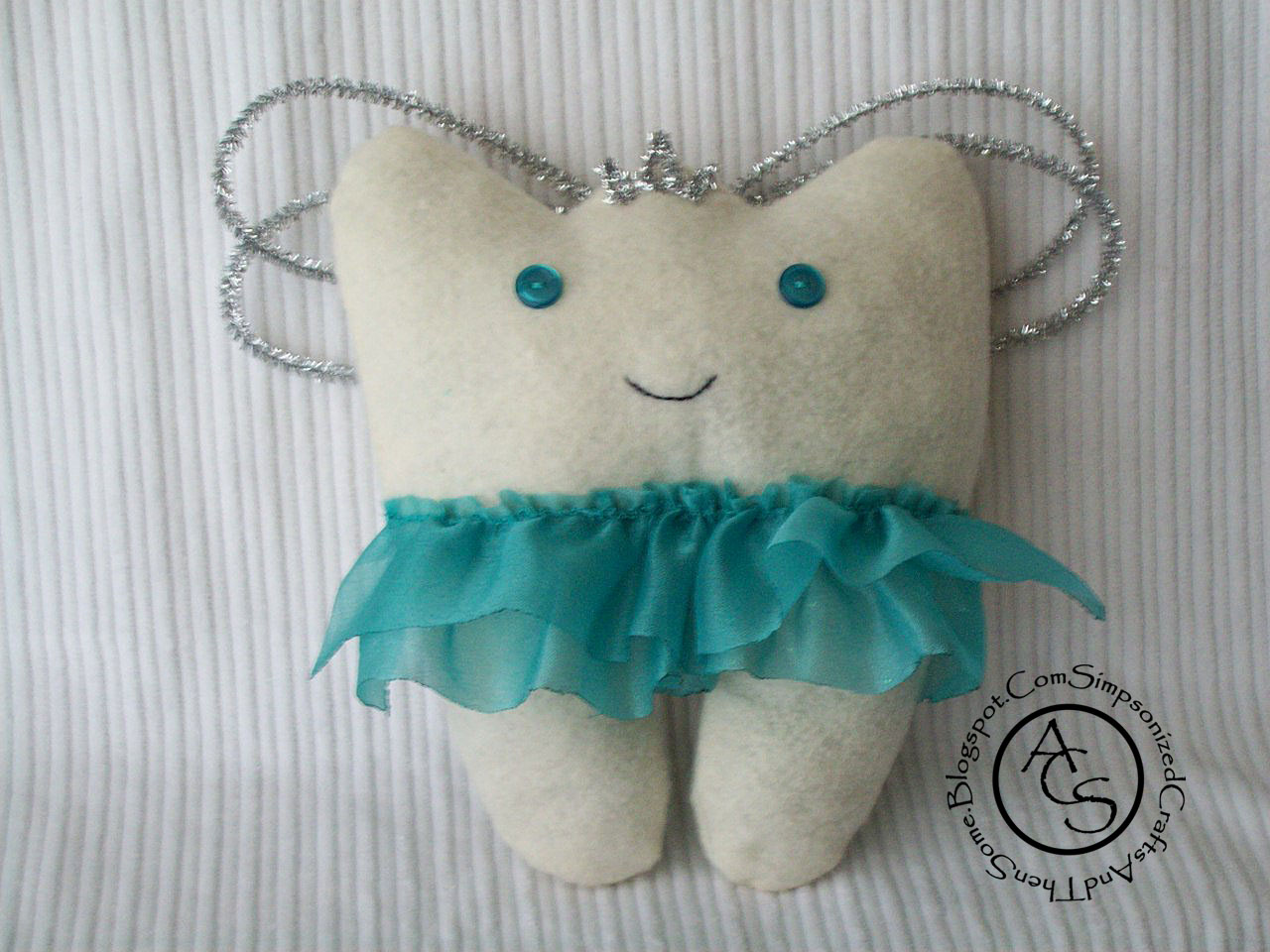Tooth Fairy Pillow Template