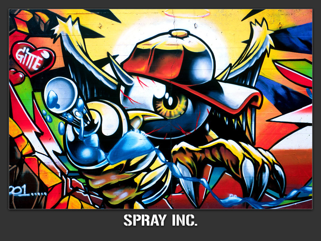 Desktop Wallpaper Graffiti Wallpaper