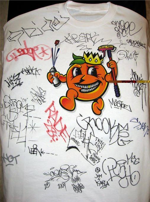 How To Draw Graffiti On T Shirts