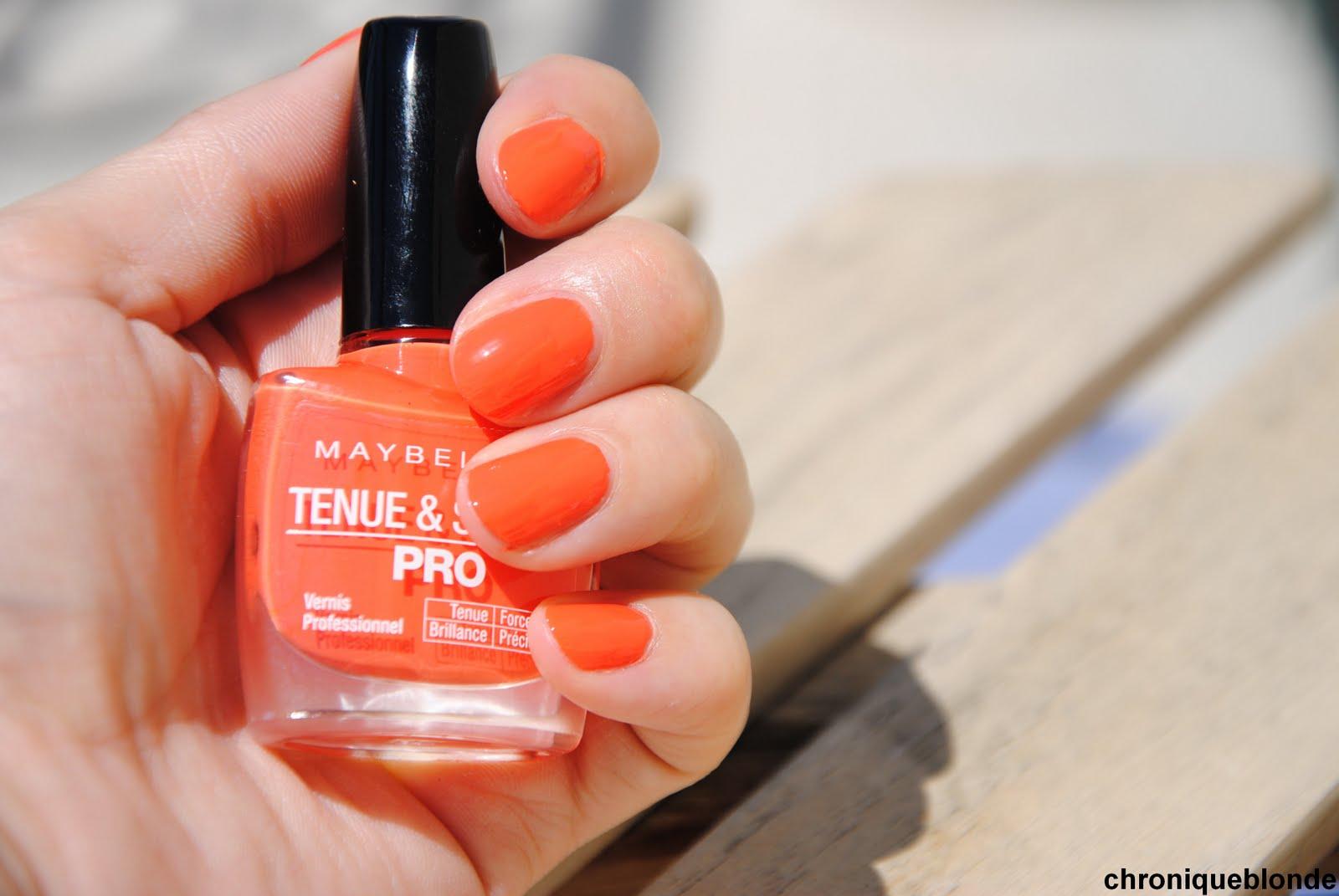 La Tendance Orange Et Corail Vue Par Gemey Maybelline Les