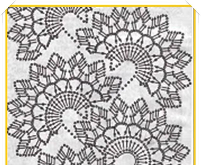 Circulos Bufandas Con Crochet