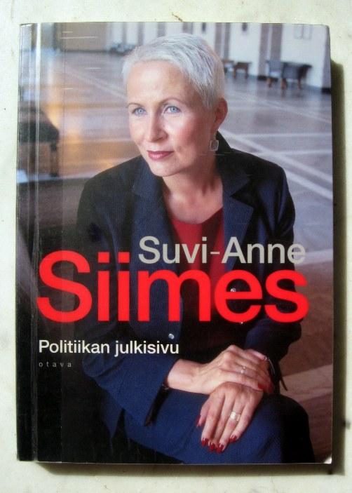 Sallan lukupäiväkirja: Suvi-Anne Siimes: Politiikan julkisivu