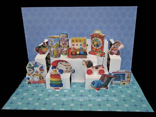 toy shop pop up card