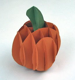 sliceform pumpkin
