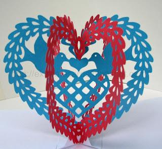 scherenschnitte valentine
