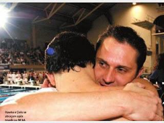 Brett Hawke disputou a final dos 50m livre dos Jogos de Atenas 9e155958581bd