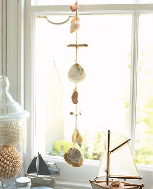 Decoraci n con conchas de mar cositasconmesh - Decoracion con conchas ...