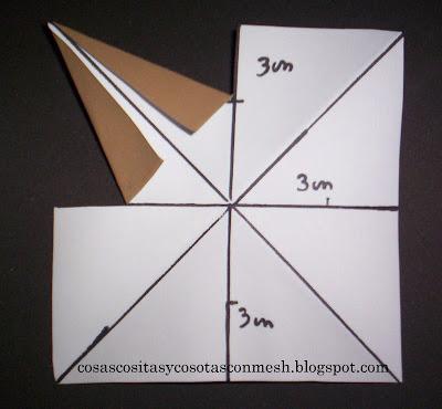 Como hacer una estrella de papel grande paso a paso - Estrellas de papel para navidad ...
