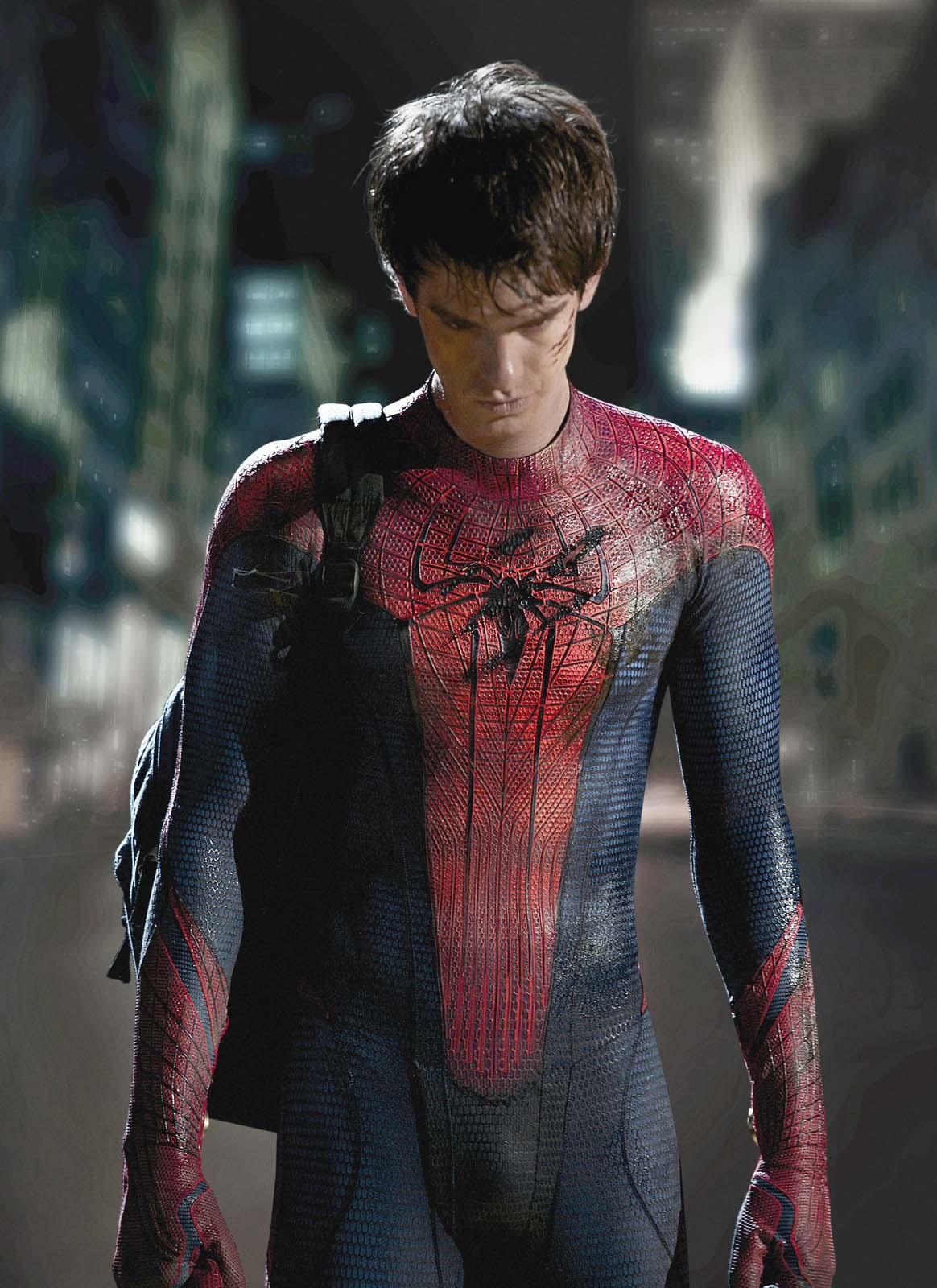 Nuovo Spiderman nuovo pacco ecco Andrew Garfield nei panni dellUomo Ragno  Spetteguless
