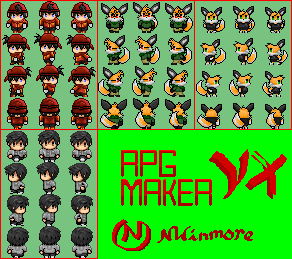How much editing until a sprite is your own? Topic :: rpgmaker net