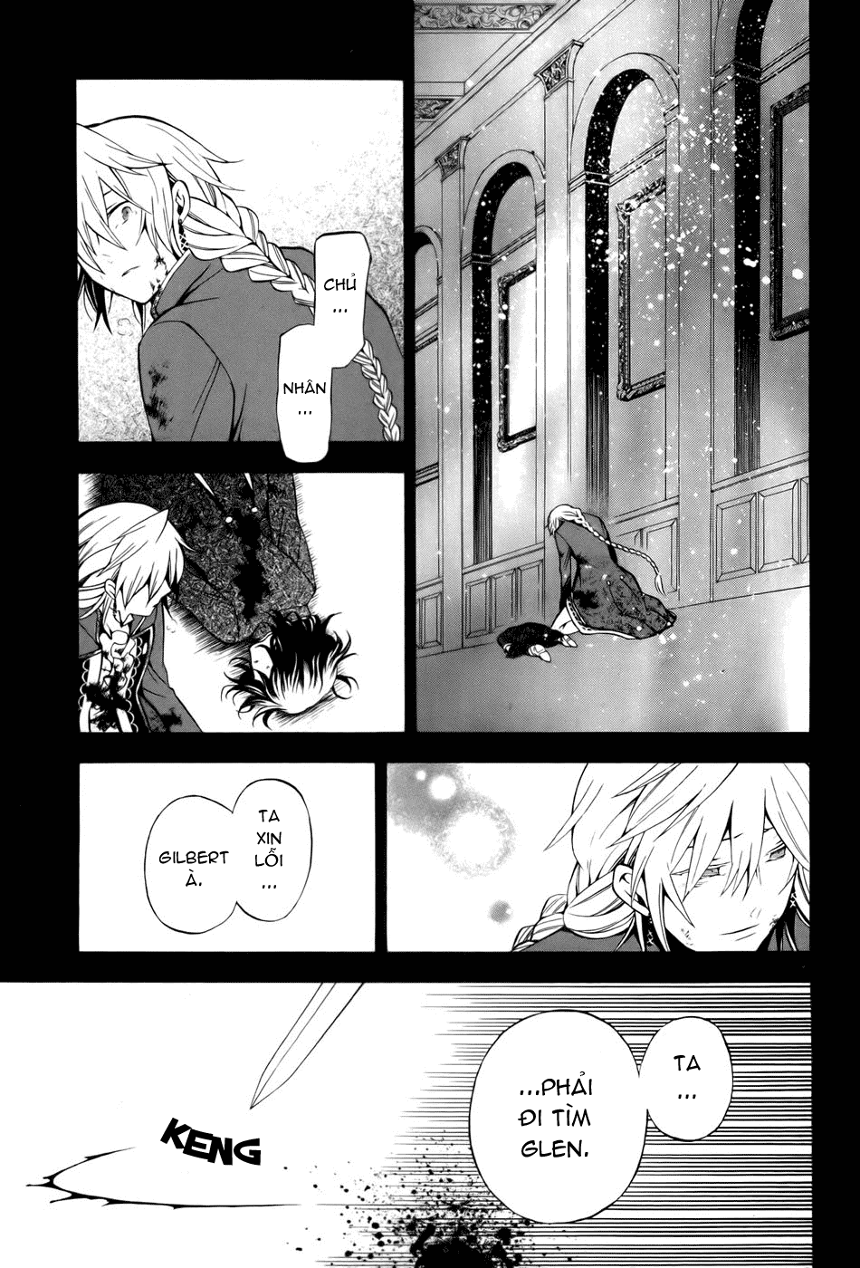 Pandora Hearts chương 039 - retrace: xxxix gate of blackness (tr.72. fixed ver.) trang 31