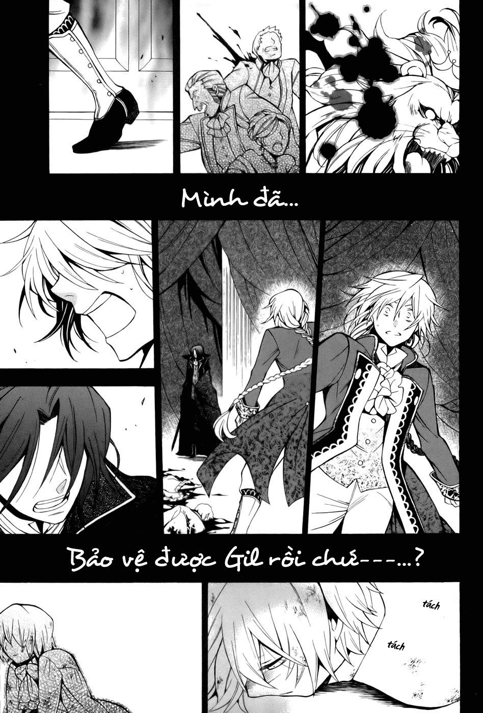 Pandora Hearts chương 039 - retrace: xxxix gate of blackness (tr.72. fixed ver.) trang 21