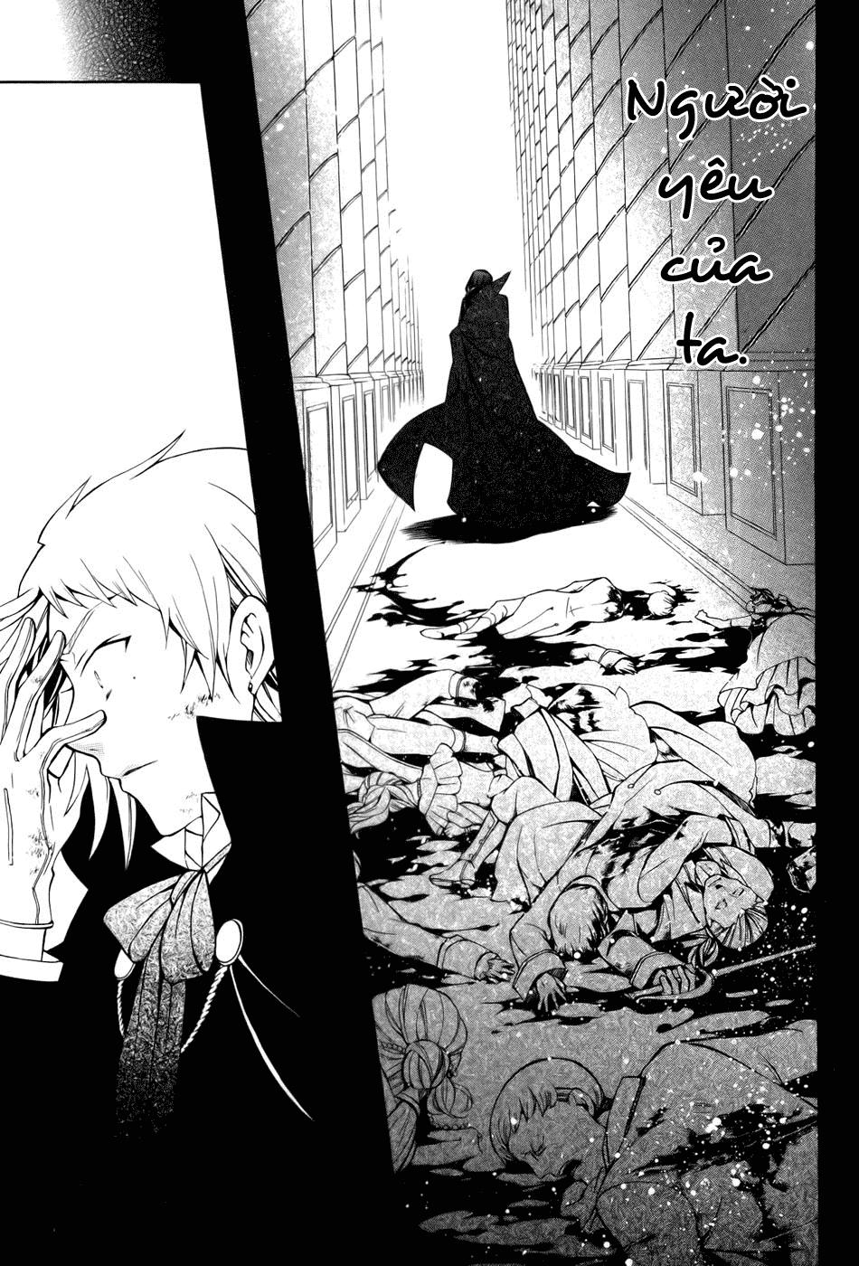 Pandora Hearts chương 039 - retrace: xxxix gate of blackness (tr.72. fixed ver.) trang 33