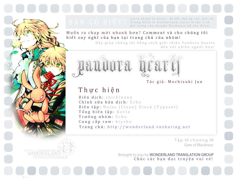 Pandora Hearts chương 039 - retrace: xxxix gate of blackness (tr.72. fixed ver.) trang 1