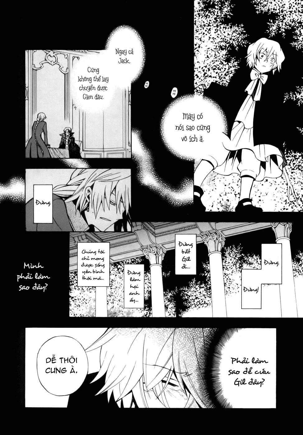 Pandora Hearts chương 039 - retrace: xxxix gate of blackness (tr.72. fixed ver.) trang 11