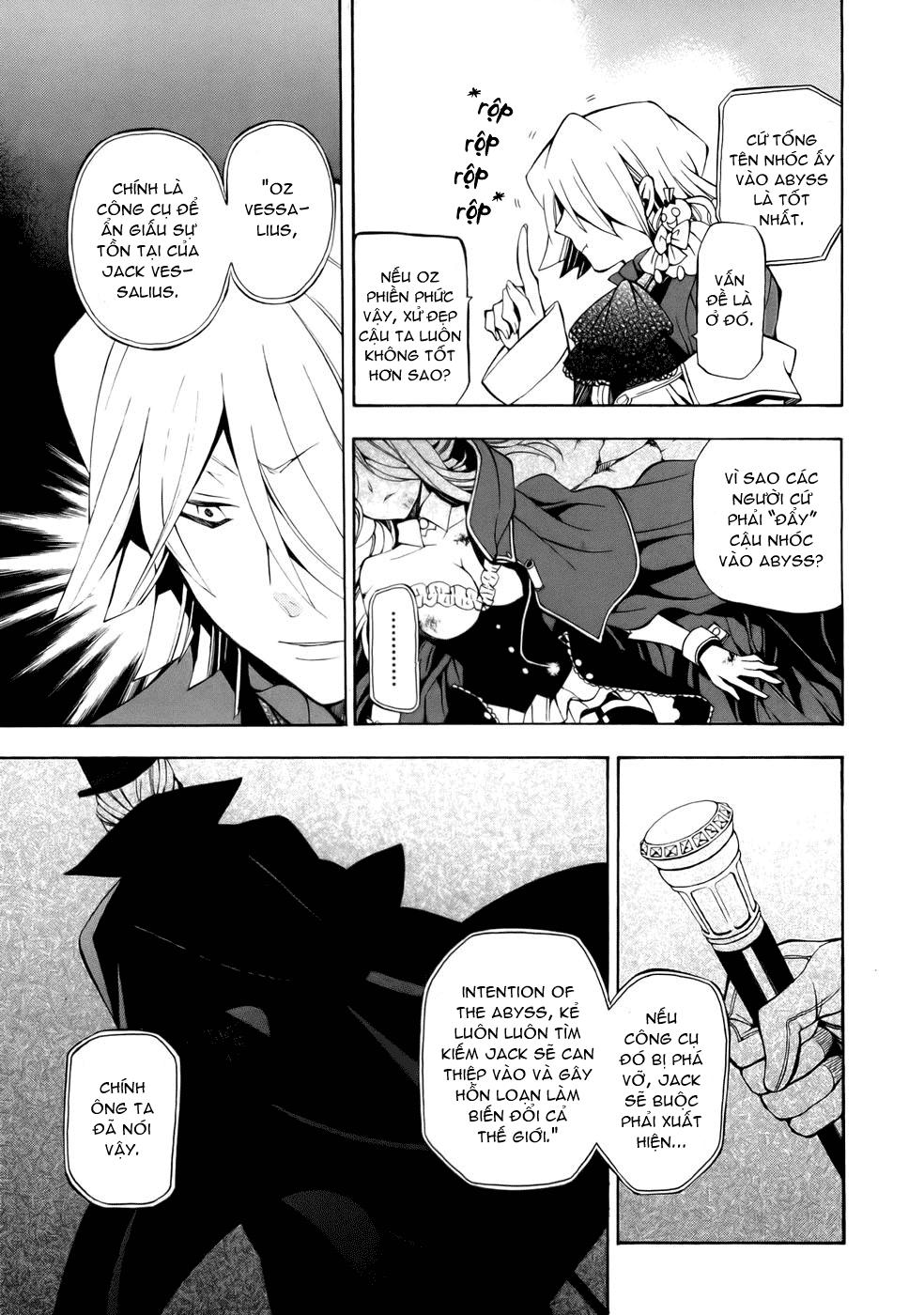 Pandora Hearts chương 039 - retrace: xxxix gate of blackness (tr.72. fixed ver.) trang 37