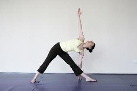 trikonasana  yoga triangle pose  yoga positions and
