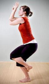 Garudasana - Eagle Pose | Yoga Positions and Techniques
