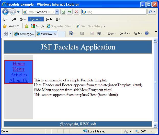 Resume java jsf projects - Java Resume | Java Server Pages