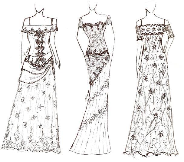 Desain Baju Gaun Wanita Model Baju Trend 2019